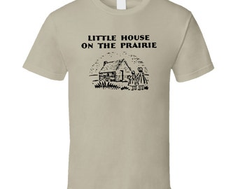 Little House On The Prairie Book T Shirt - Tan