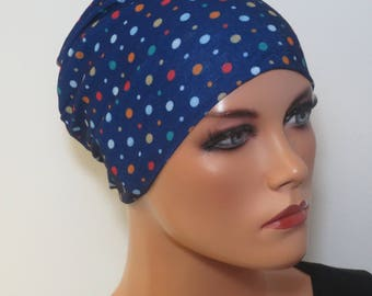 Night/sleep-underwear cap Chemomütze very stretchy ideal in chemotherapy alopecia hair loss instead of wig