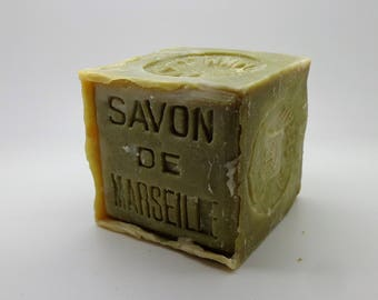 Marseille soap olive oil cube 600g