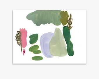 Monet's Garden 13, print on fine art paper