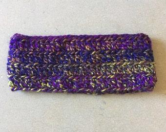 READY TO SHIP one of a kind crochet ear warmer headband