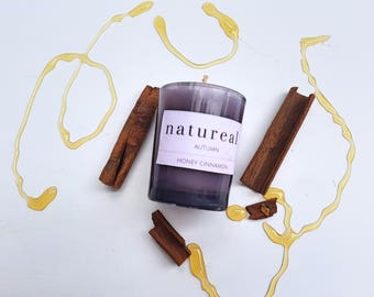 Cinnamon and Honey Autumn Candle