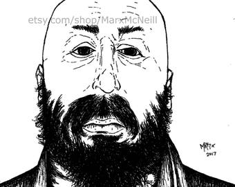Warren Ellis (B&W)