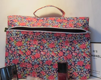Liberty fabric makeup with cuff