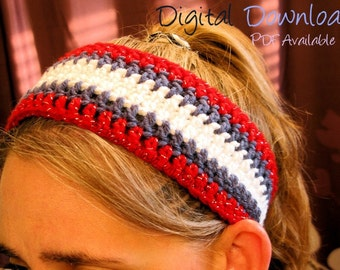 Independence Swag Headband  - Pattern Only