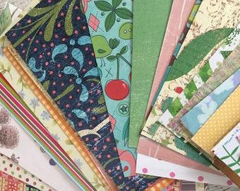 Scrap Paper Embellishment Pack~ Paper Scrap Pack~Junk Journal~ Junk Journal Supply~Paper Ephemera~ Paper Pack~Scrapbooking~50 Pieces