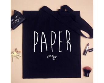 Paper Orgy Tote Shoulder Bag