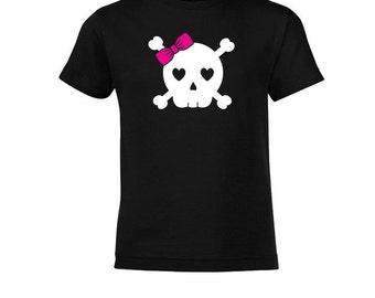 Mini - Girl Skull