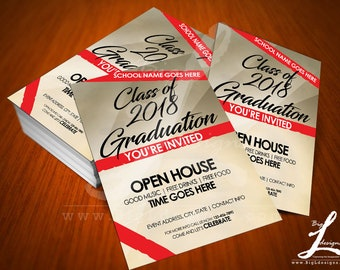 Graduation Flyer Template BLD003