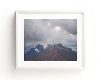 "landscape photography, large landscape wall art, large art, large wall art, landscape art prints, mountains, wilderness - ""Keep Climbing"""
