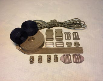 Crafting Kit 25 mm Belt Strap Coyote