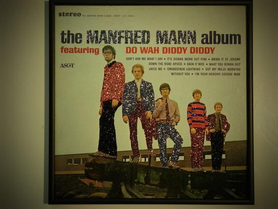 Glittered Record Album - Manfred Mann - The Manfred Mann Album
