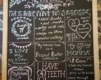 Large chalk art