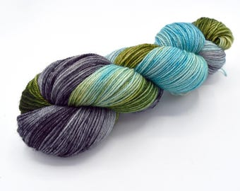 Thunderboom Variegated - Hand Dyed Yarn Made to Order