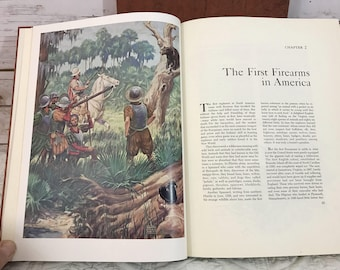 The Story of American Hunting and Firearms Book, 1959 Outdoor Life