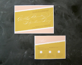 Elizabeth and Darcy 2011 Redux- Invitations and RSVP