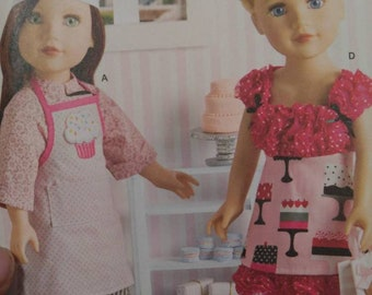 American Girl Apron n Access patterns