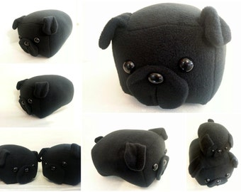Black Pug Loaf -Made to Order