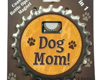 Dog Drink Coasters - 3 in 1