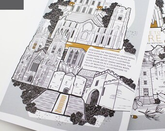 A Colouring Guide To Yorkshire Book