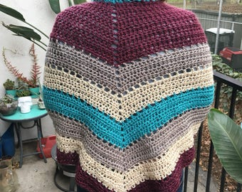 Witchy shawl Color Chic winter