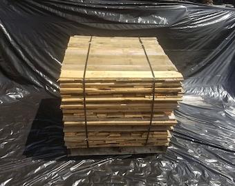 Bulk Reclaimed Pallet boards 400 board cube