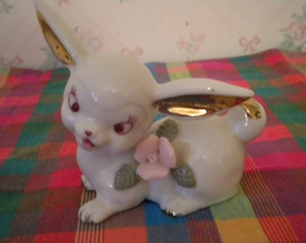 Vintage Chase Hand Painted Bunny, Japan