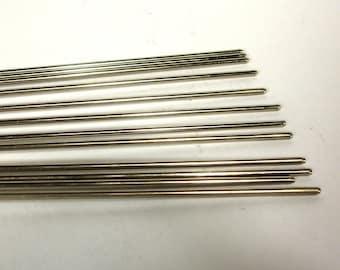 Steel Mandrels for Glass Bead Making - 1 dozen 3/32 inch diameter