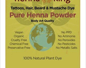 Henna King Pure Henna 100% Natural & Chemical Free Hair Coloring