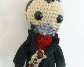 Negan, A Doll Inspired By Negan From The Walking Dead with Lucille