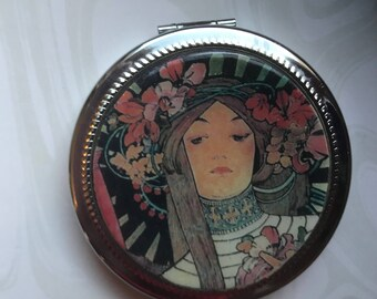 Compact Mirror, Polymer Clay
