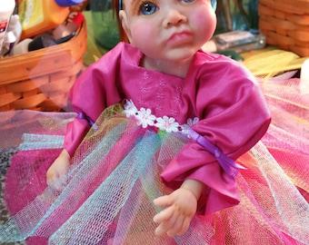 Custom sculpted baby doll grandbaby OOAK