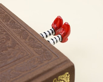 Wizard of oz bookmark,Wicked Witch Bookmark,Cute bookmarks,Funny bookmarks - Legs