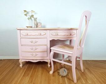 Desk Vanity French Provencial