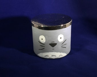 My Neighbor Totoro Handpainted Container with soot sprites