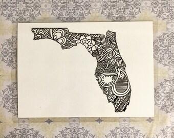 Florida print