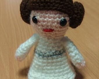 Princess Leia Star Wars crochet figure