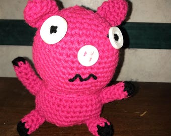 Hand Made Fefevoo Pig Doll