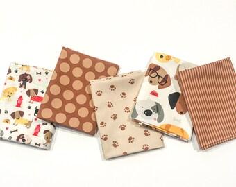 Riley Blake Fabric Rover Collection, Fat Quarter Bundle