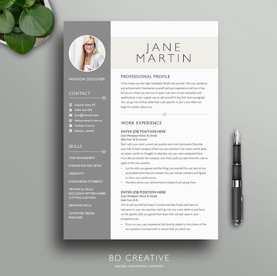 Resume Boutique Template Bundle  Creative Resume Templates