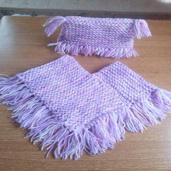 Easy Baby Poncho Knitting Pattern Image Collections Knitting
