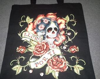 Lloro Por Ti - Day of the Dead tote bag