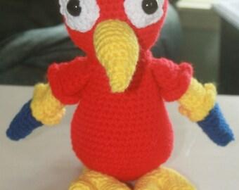 Crochet Amigurumi Parrot