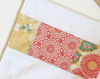 Kitchen Towel in Patchwork - Butter Floral Bouquet