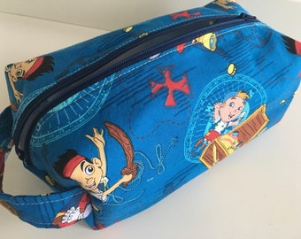Toiletry Bag Men, Toiletry Bag Women, Kids Make Up Bag, Make Up Bag, Travel Bag,  Cosmetic Bag, Kids Toiletry Bag - Jake Pirates