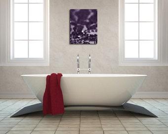 Abstract Purple Wall Decor, Sparkle Home Decor, Abstraction, Fine Art Photograph 8x10 11x14 16x20