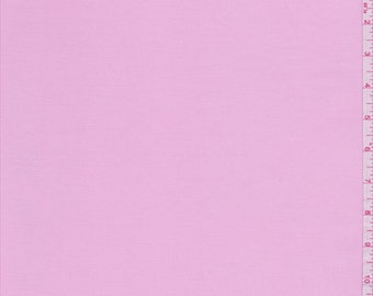 Pink Fine Line Stretch Twill, Fabric By The Yard