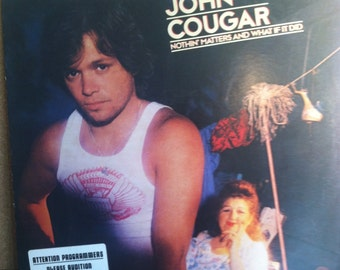 John Cougar Nothin Matters And What If It Did Vinyl Rock Record Album