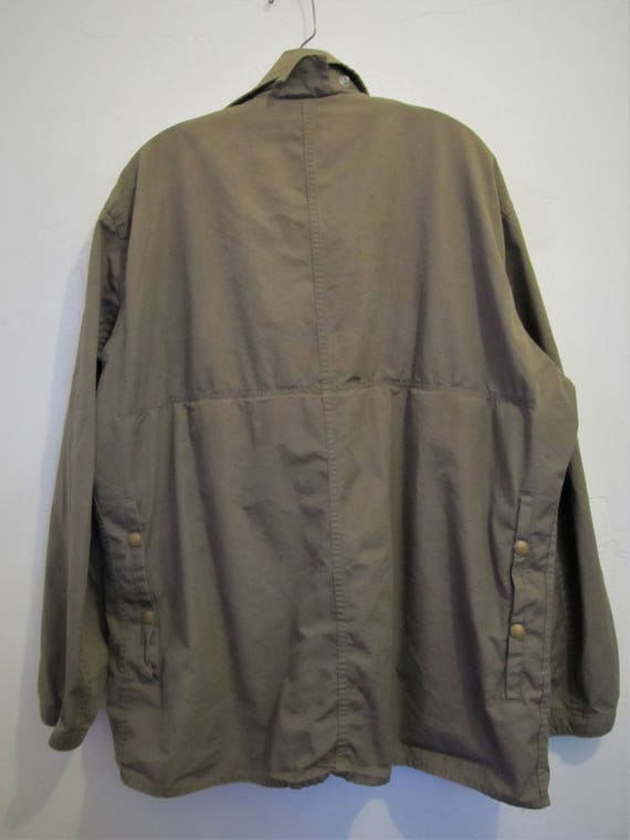 Colored COMFY HUNTING 40's Coat L Vintage Men's By era M Bird 48R Cotton Type A Drab f7Xwx
