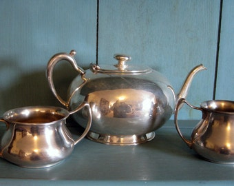 Tea Service, Set of three pieces